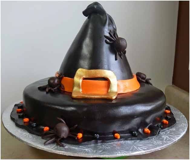 Chocolaty Witch hat cake