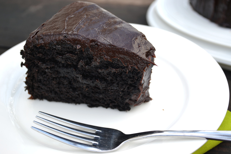 Dark Chocolate Cakes