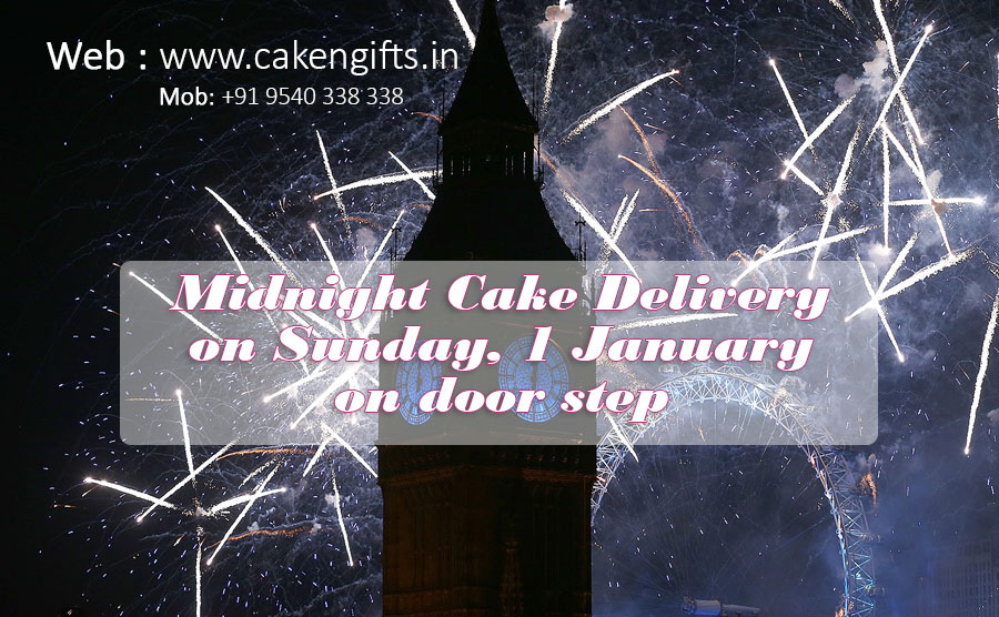 Midnight Cake on New Year