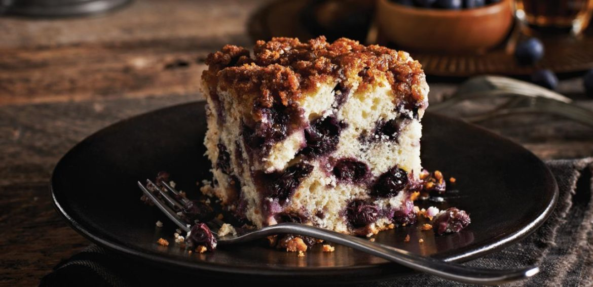 Egg cake with frozen blueberry - All egg lover need to have it once!!
