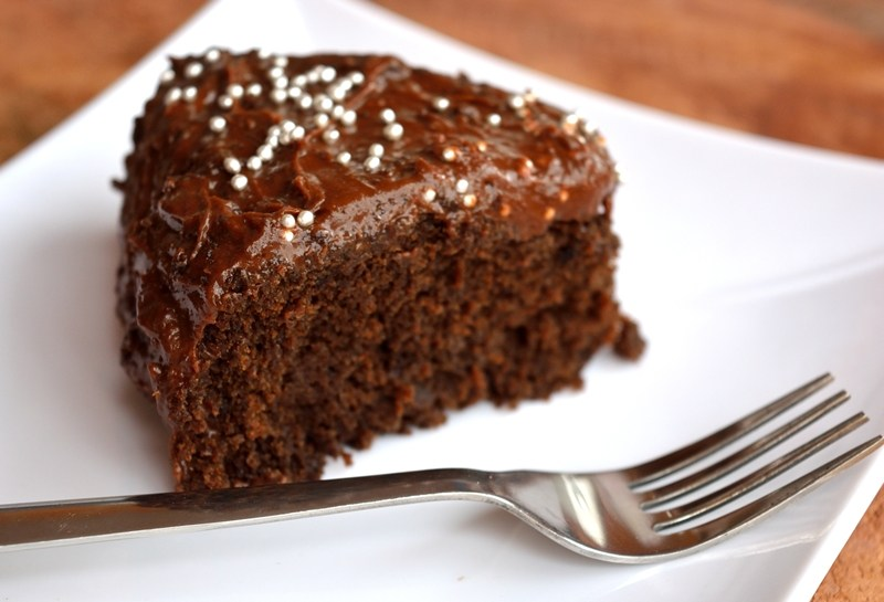 Chocolate pulpy frosting