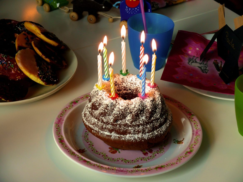 5 happy birthday cake design
