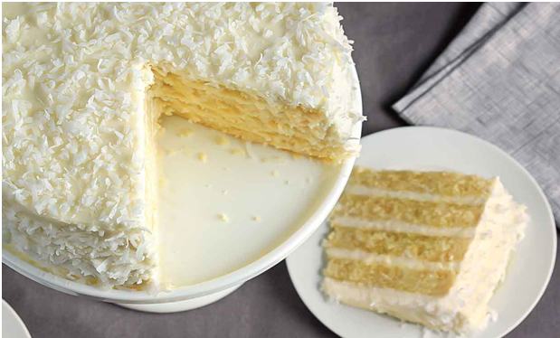 Coconut Cake Design