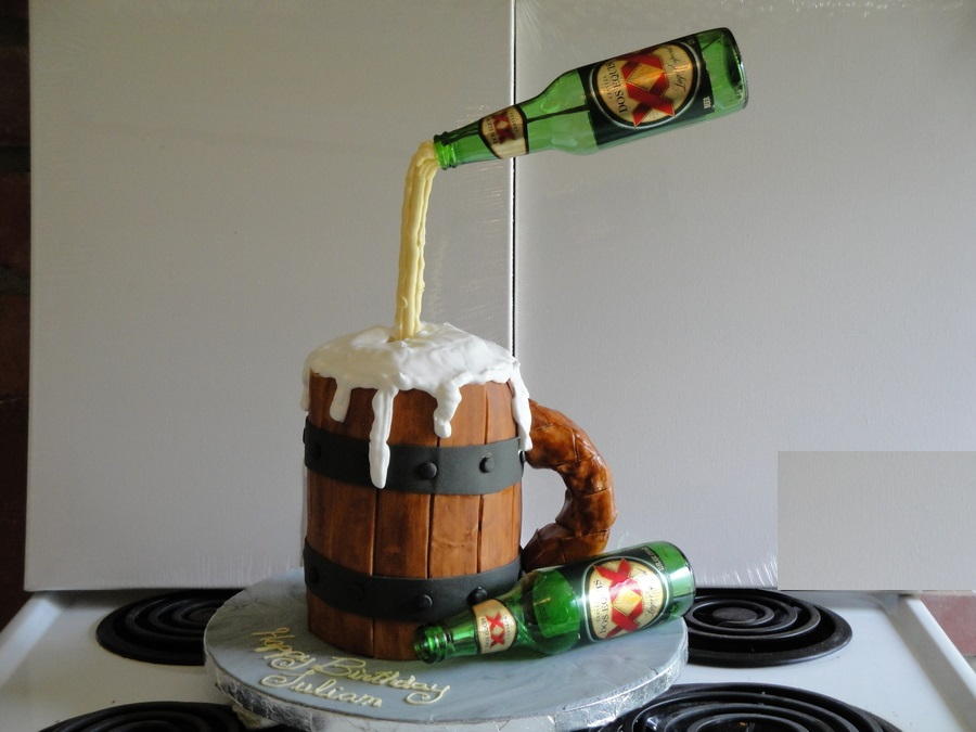 Beer cake images ideas