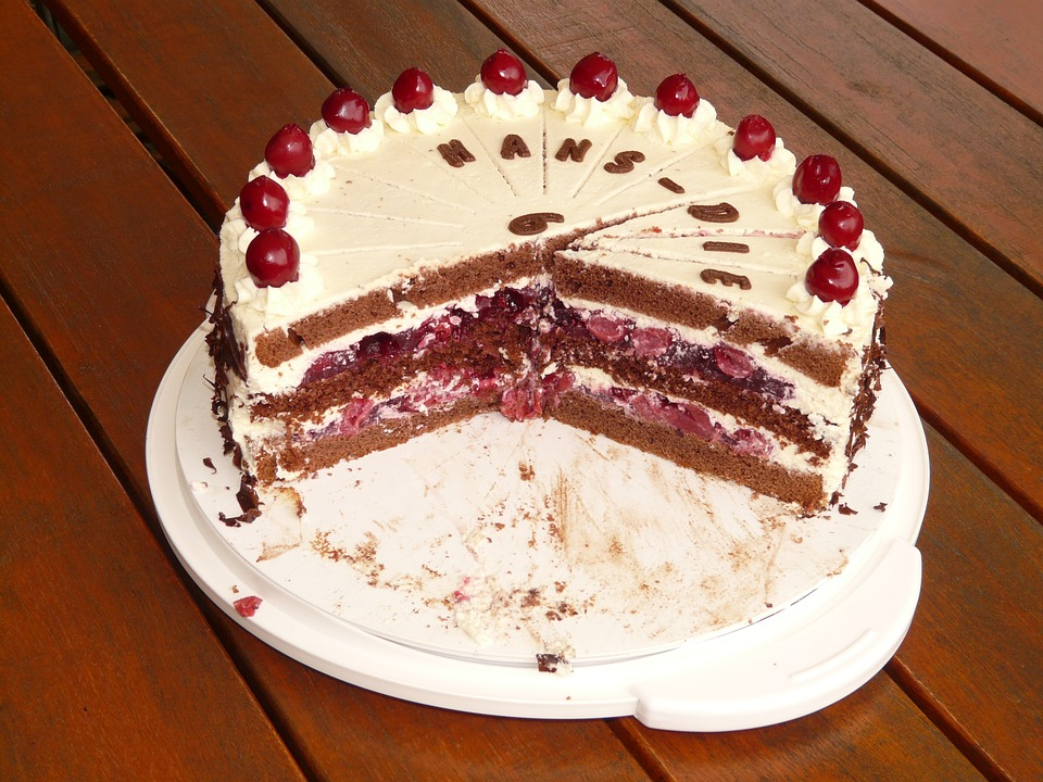Images of black forest birthday cake