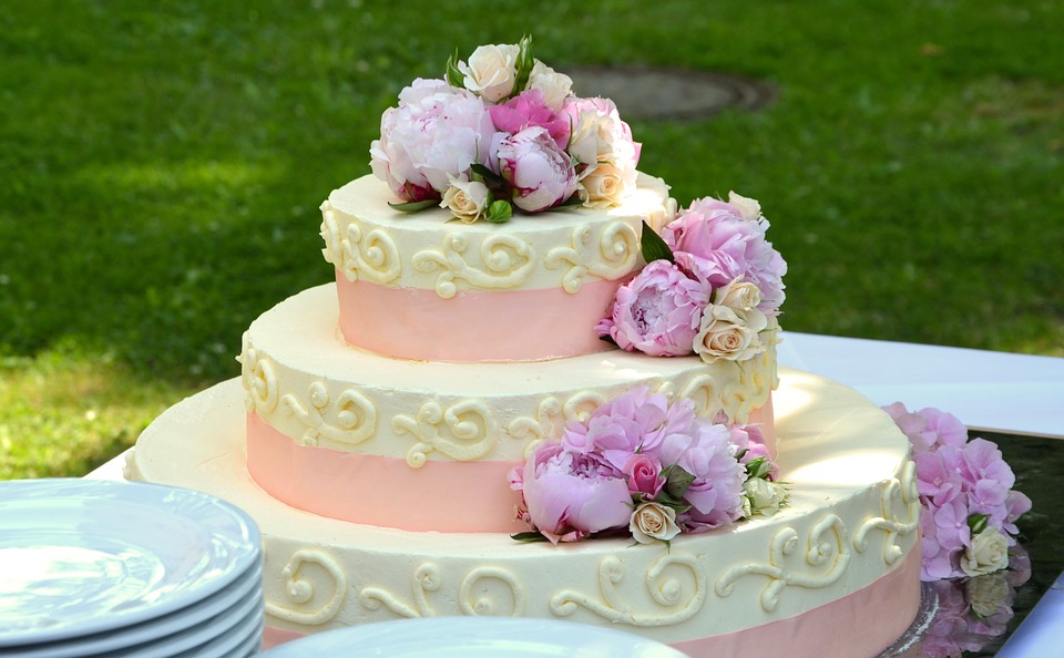 Multi tier wedding cake images
