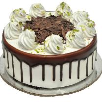 Black Forest Cake White