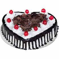 Blackforest Cake Heart Shaped
