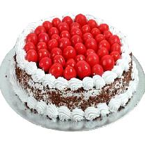 Blackforest Cake With Cherry