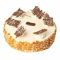 Butterscotch Cake With Crunch