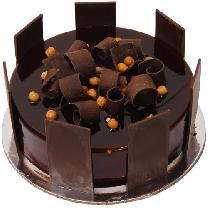 Chocolate Cake In Boundry