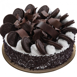 Chocolate Cake By Round Oreo