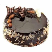 Chocolate Cake With Almond