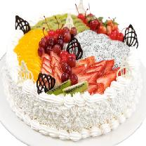 Mix Round Fruit Cake