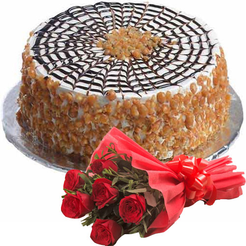 buttery-cake-n-6-red-roses
