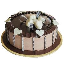 Chocolate Cake With Heart