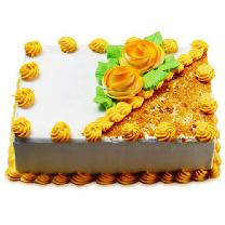 Rectrangular Butterscotch Cake