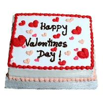 Valentines Day Chocolate Cake