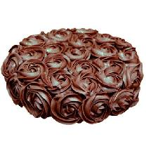 Rose Chocolaty Cake