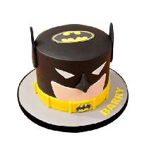 Batman Mask Chocolate Cake