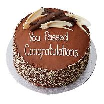 Congratulations Chocolate Cake