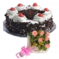 black-forest-cake-in-round-6-pink-roses thumb