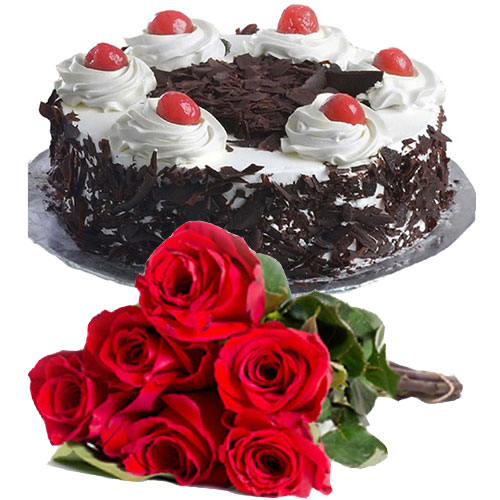 black-forest-cake-in-round-6-roses