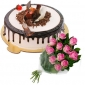 divine-black-forest-cake-12-pink-roses thumb