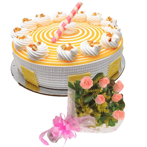 sapid-butter-scotch-cake-6-pink-roses