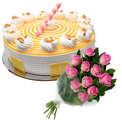 sapid-butter-scotch-cake-12-pink-roses
