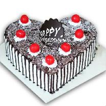 Delighted Black Forest Cake