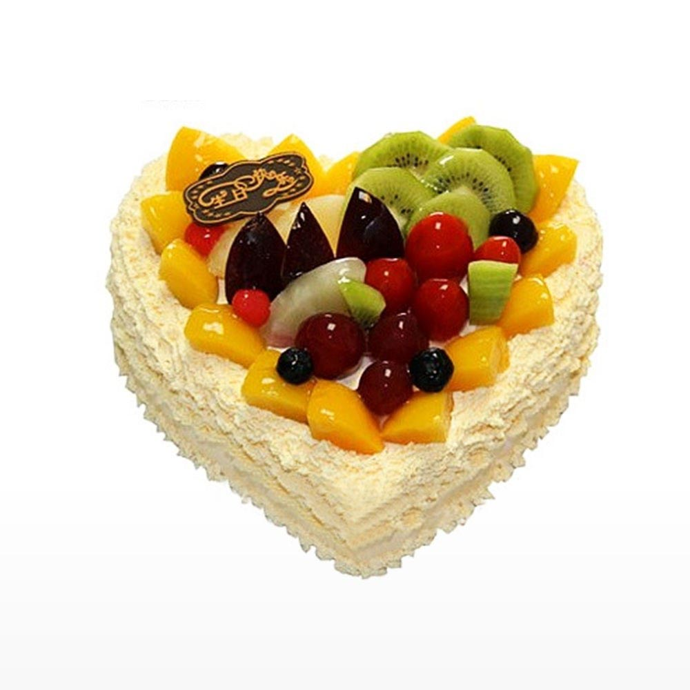 fresh-fruit-cake-in-heart