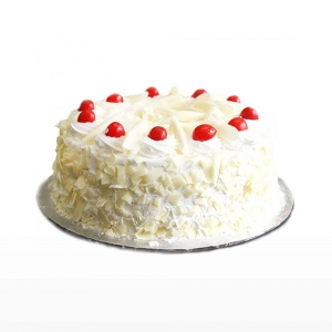 White Forest Cake N Cherry