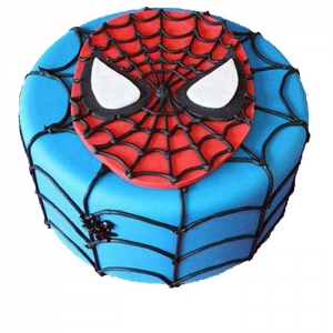 Favoroute Spiderman Cake
