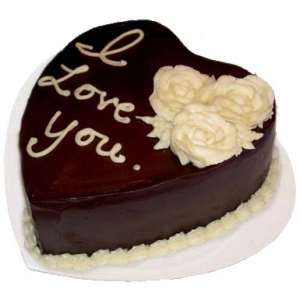 Love You Chocolate Cake