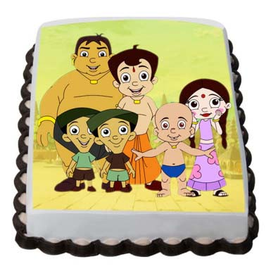 chota-bheem-photo-cake