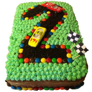 2-number-racing-track-cake
