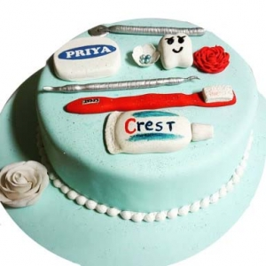 Cake For Dentist Doctor