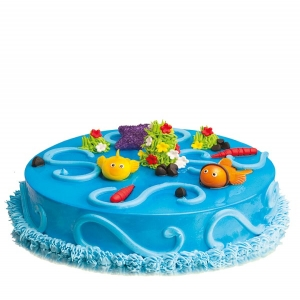Nimo In Water Fondant Cake