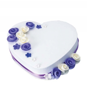 Purple Heart Pineapple Cake
