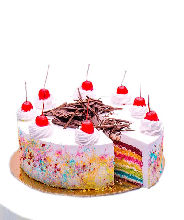 rainbow-cake-with-cherry