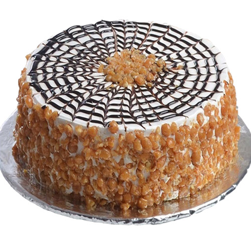 butterscotch-cake-in-round